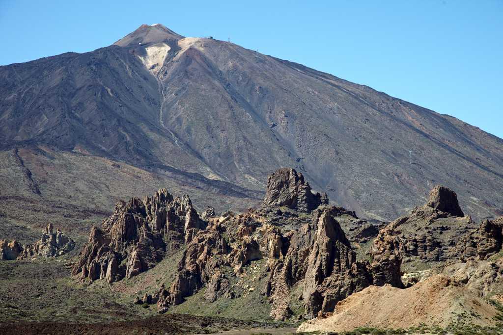 Teide des del pla d'Ucanca