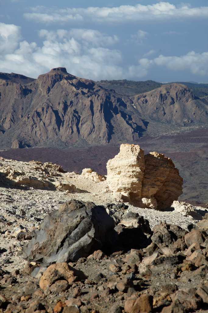 Vista des del pic del Teide