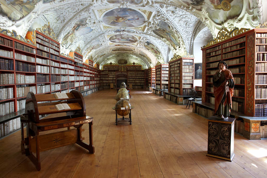 Sala teològica Biblioteca Strahov - Praga