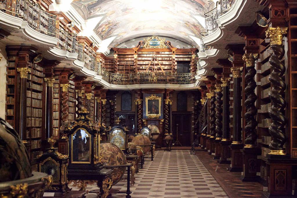 Biblioteca Klementinum - Praga