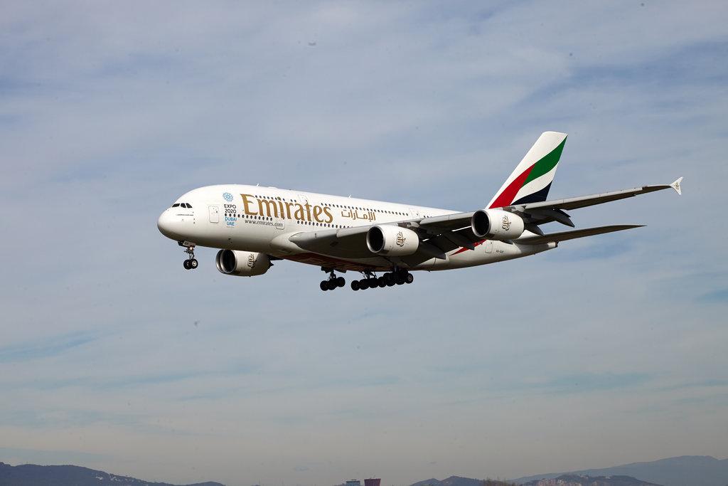 A380 A6-EDF Emirates