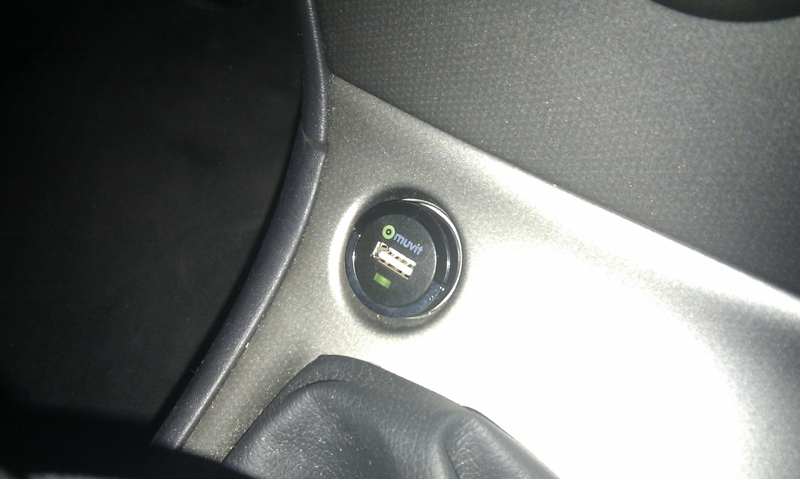 Adaptador USB per a cotxe