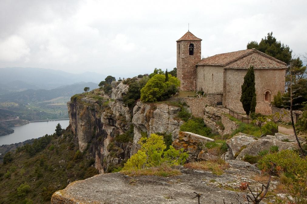 Siurana, Priorat. Eslgésia de Santa Maria.