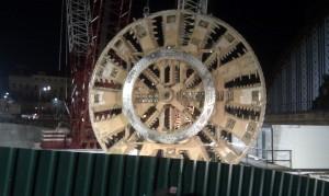 Capçal de tuneladora