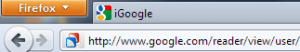 Menú Firefox 4
